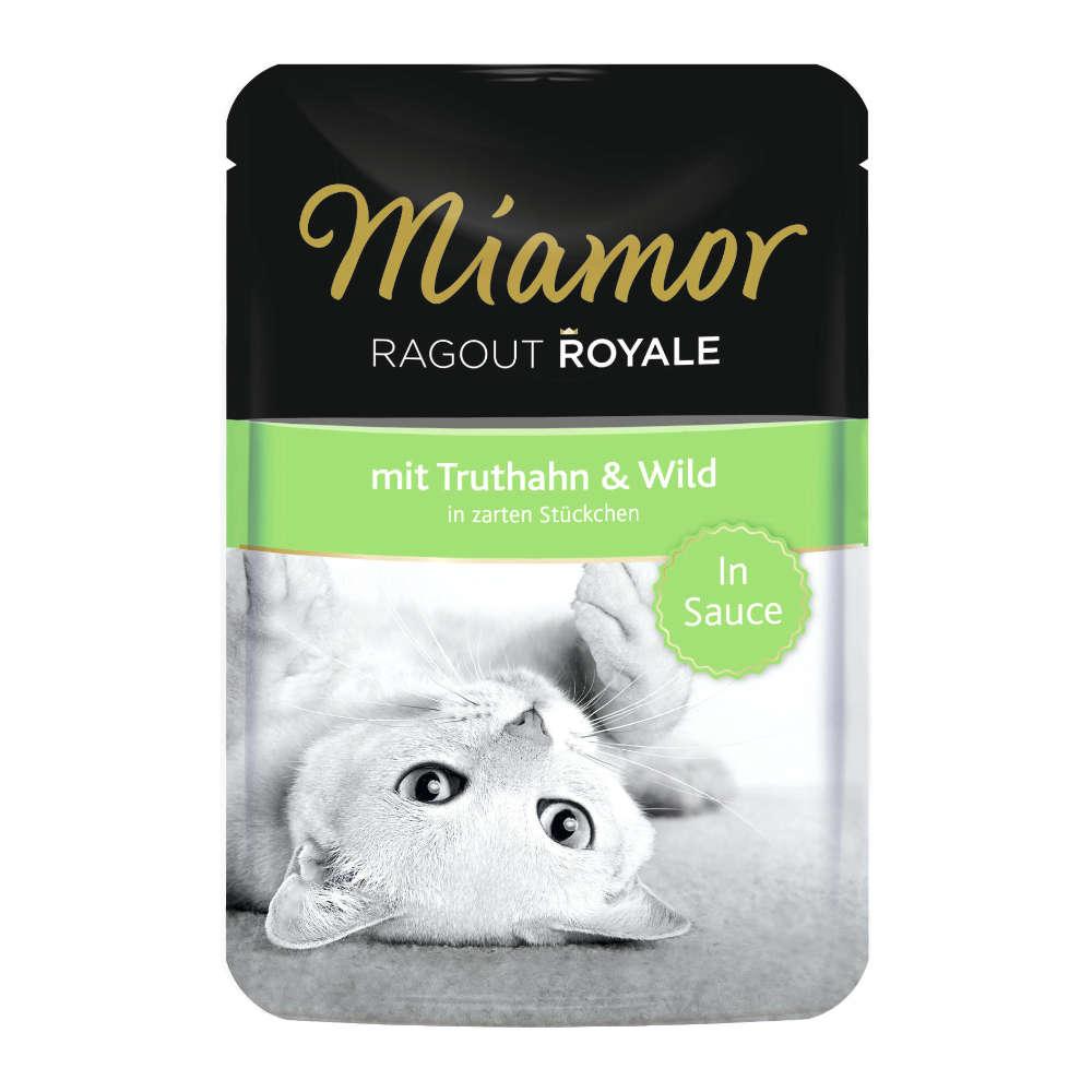 Miamor Ragout Royale mit Truthahn und Wild