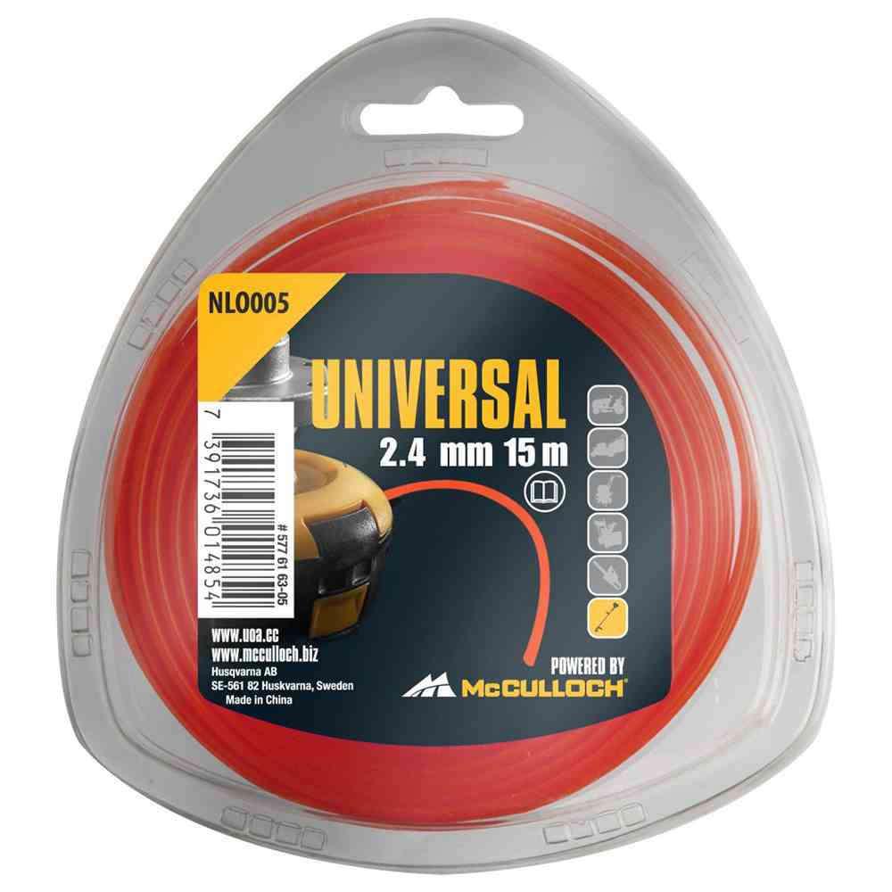 Universal Trimmerfaden Nylon 15m