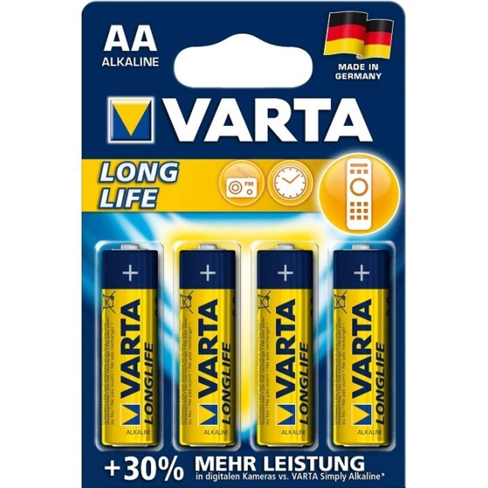 Grafik für Varta  4106 Longlife Mignon AA in raiffeisenmarkt.de
