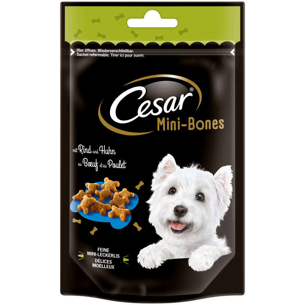 Cesar Mini-Bones mit Rind und Huhn