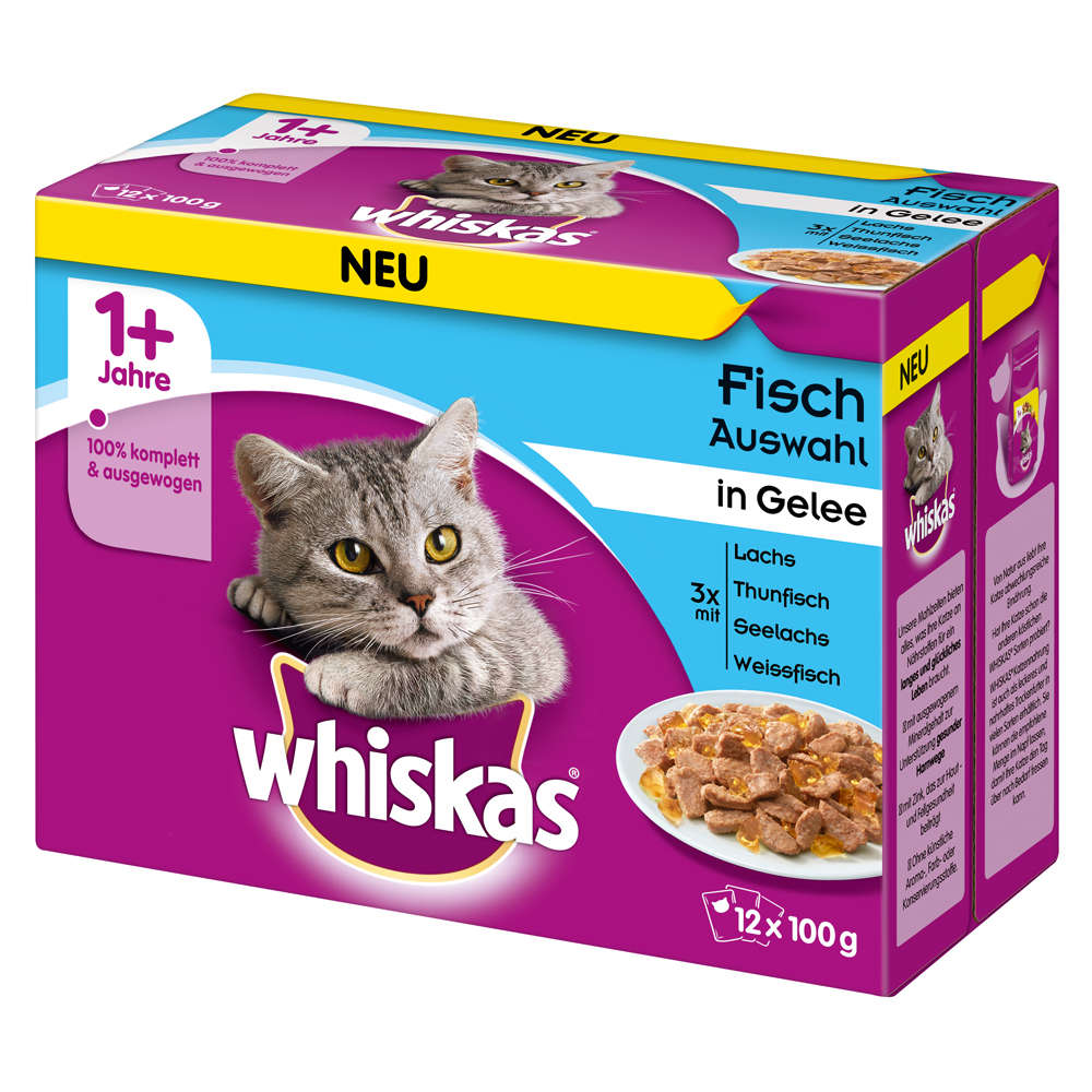 Grafik für WHISKAS Fischauswahl in Gelee Multipack in raiffeisenmarkt.de