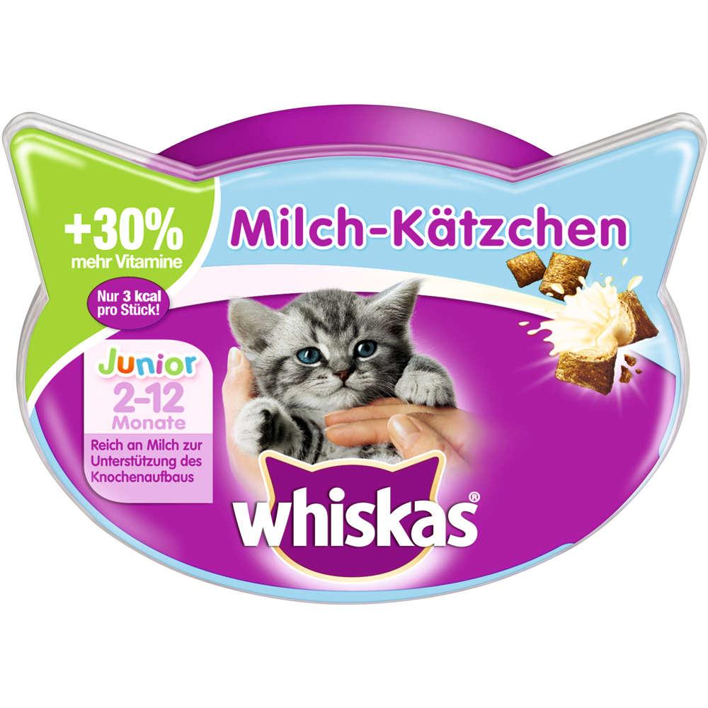 Grafik für WHISKAS Milch-Kätzchen Junior in raiffeisenmarkt.de