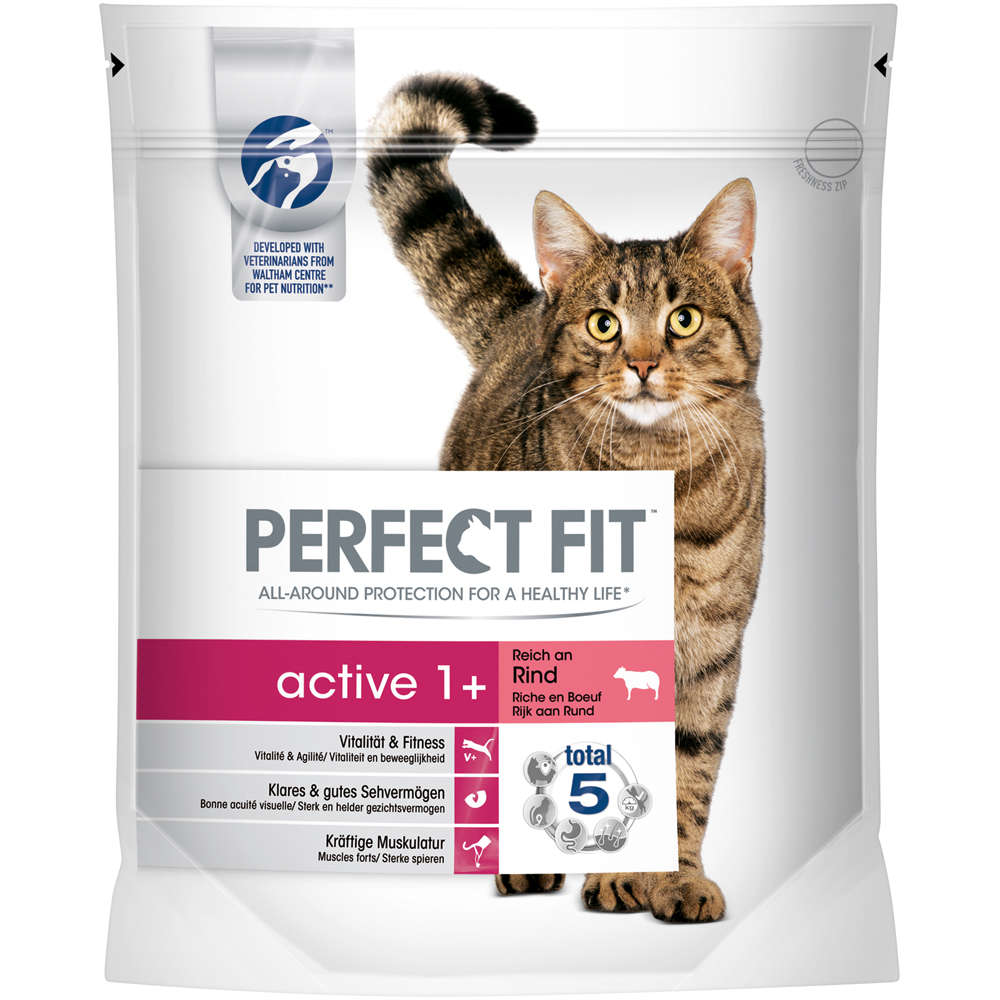 Perfect Fit Katze Active Adult reich an Rind