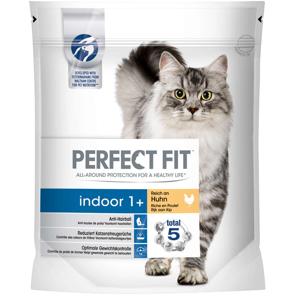 Perfect Fit Katze Indoor Adult reich an Huhn 750g