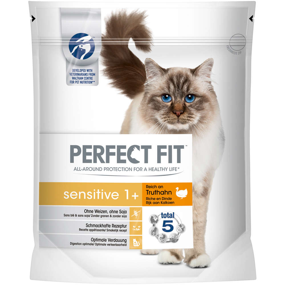 Perfect Fit Katze Sensitive Adult reich an Truthahn 750g