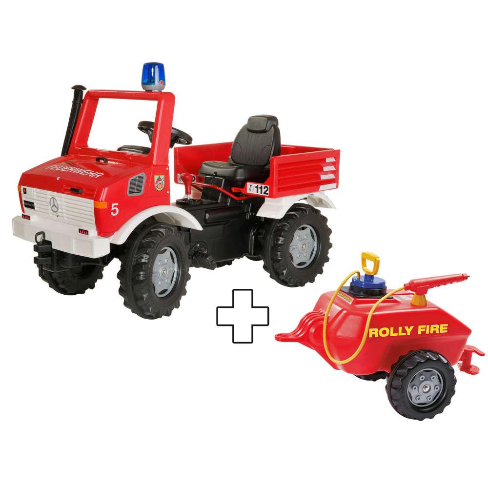 Grafik für Rolly Toys rollyFire Unimog mit Anhänger Pompa in raiffeisenmarkt.de