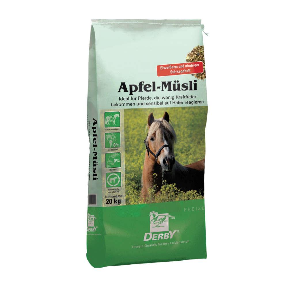 DERBY Apfel-Muesli - Kraftfutter Pferd