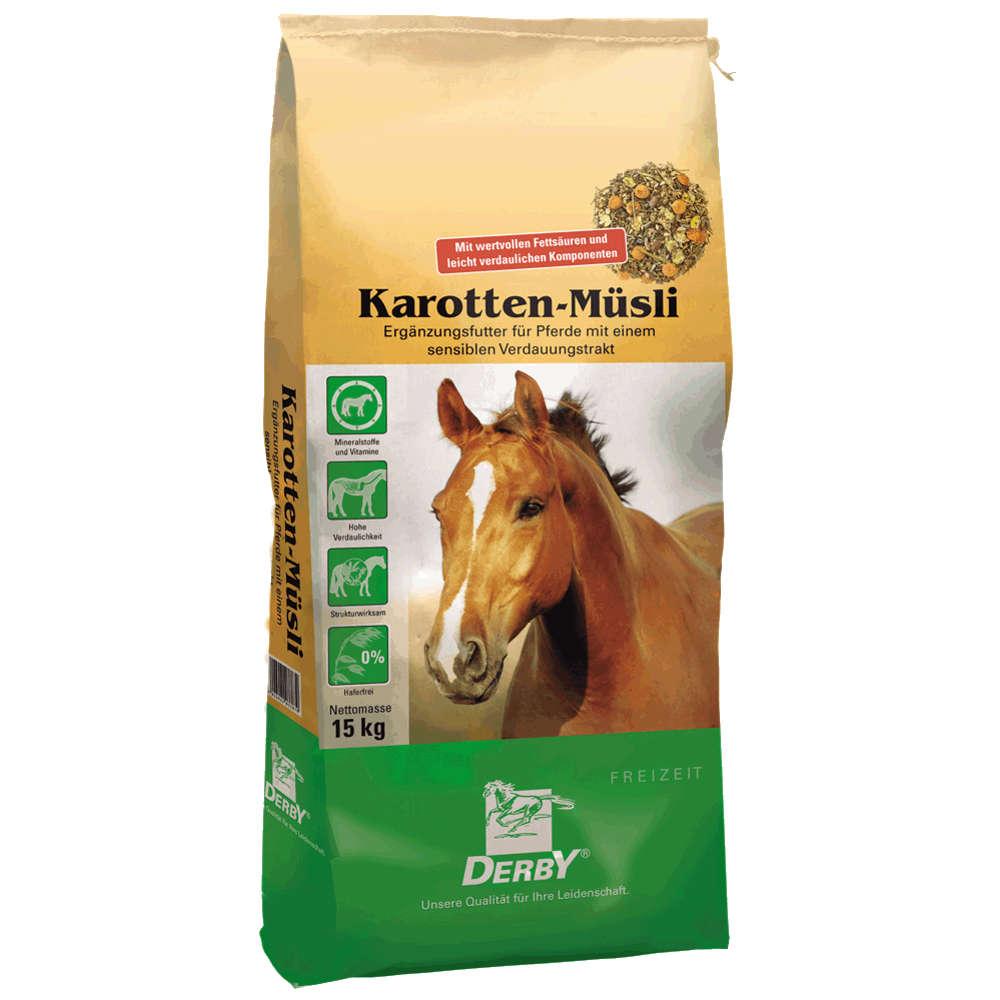 DERBY Karotten-Muesli - Kraftfutter Pferd