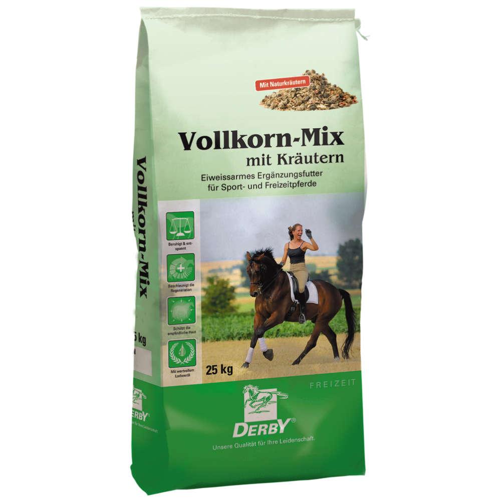 DERBY Vollkorn-Mix mit Kraeutern - Kraftfutter Pferd
