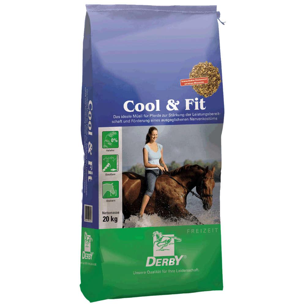 DERBY Cool&Fit - Kraftfutter Pferd