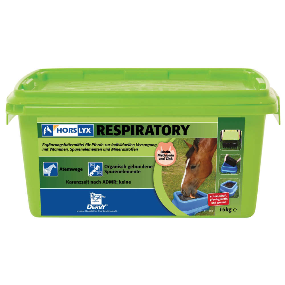 HORSLYX Respiratory - Energiereiche Mineralleckmassen