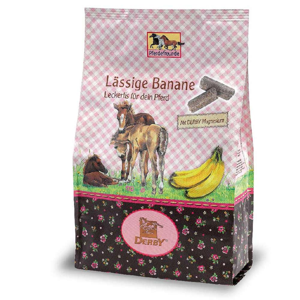 Pferdefreunde Laessige Banane - Pferdeleckerlies
