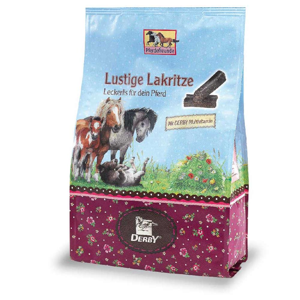 Pferdefreunde Lustige Lakritze - Pferdeleckerlies