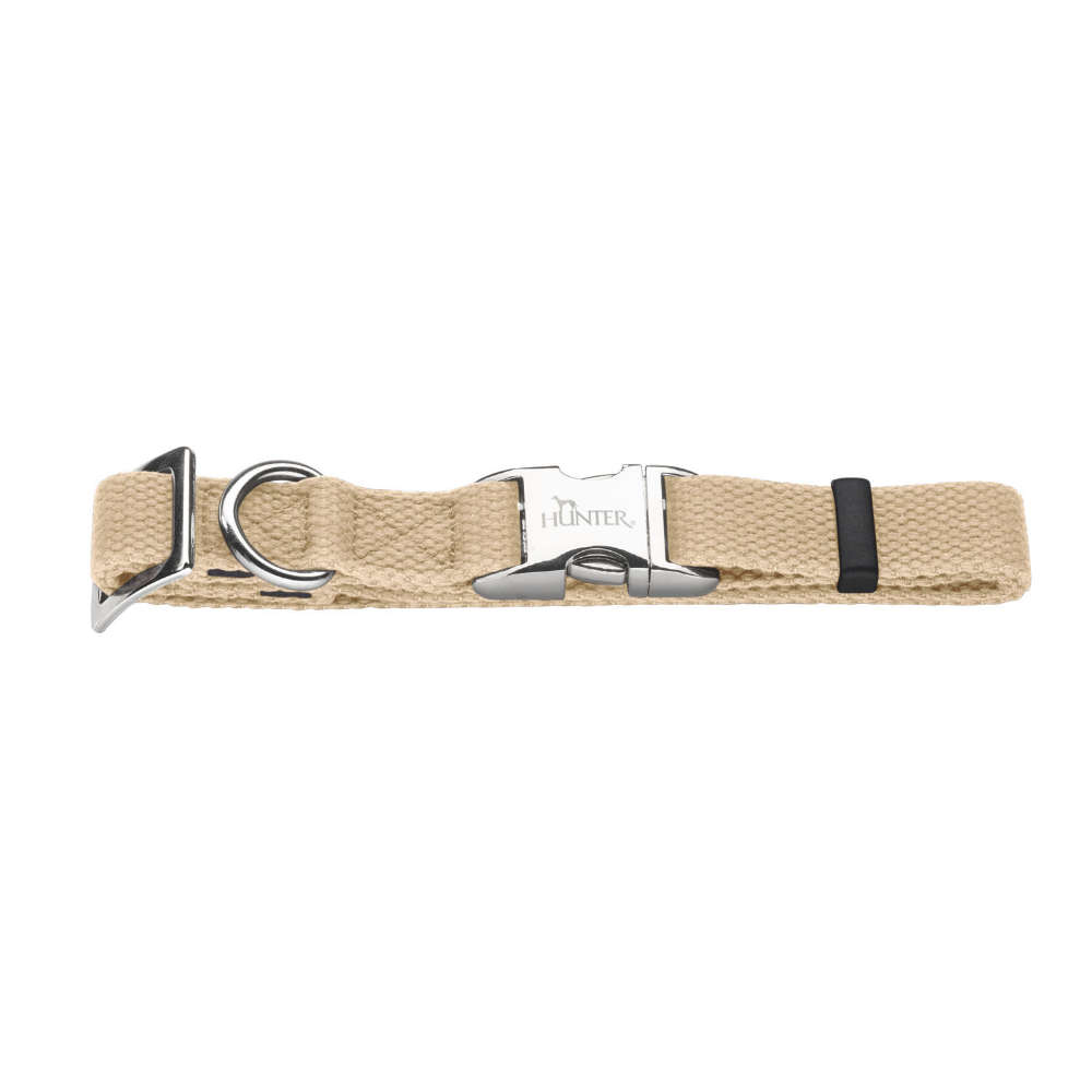 HUNTER Halsung Cotton ALU-Strong Gr. S - Hundehalsband