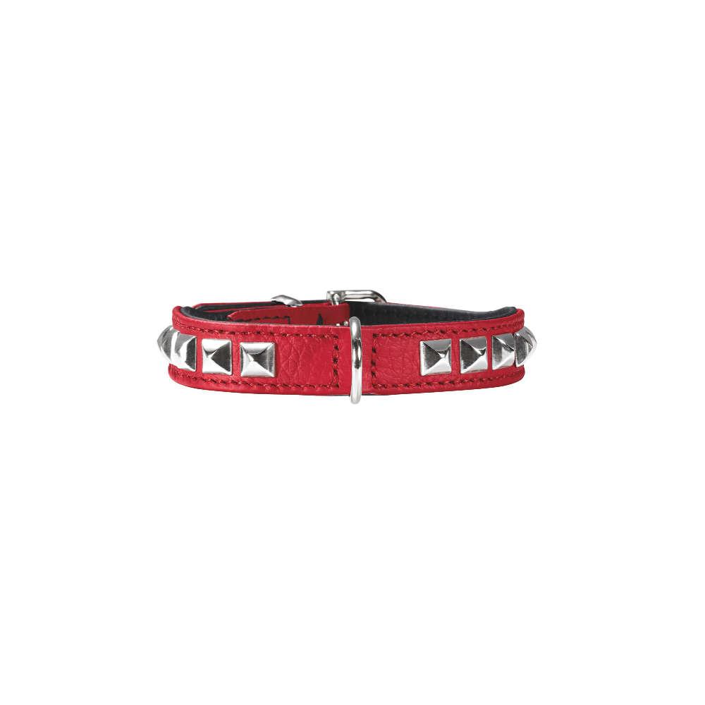 HUNTER Halsband Rocky petit XXS-XS 27 nickel - Hundehalsband