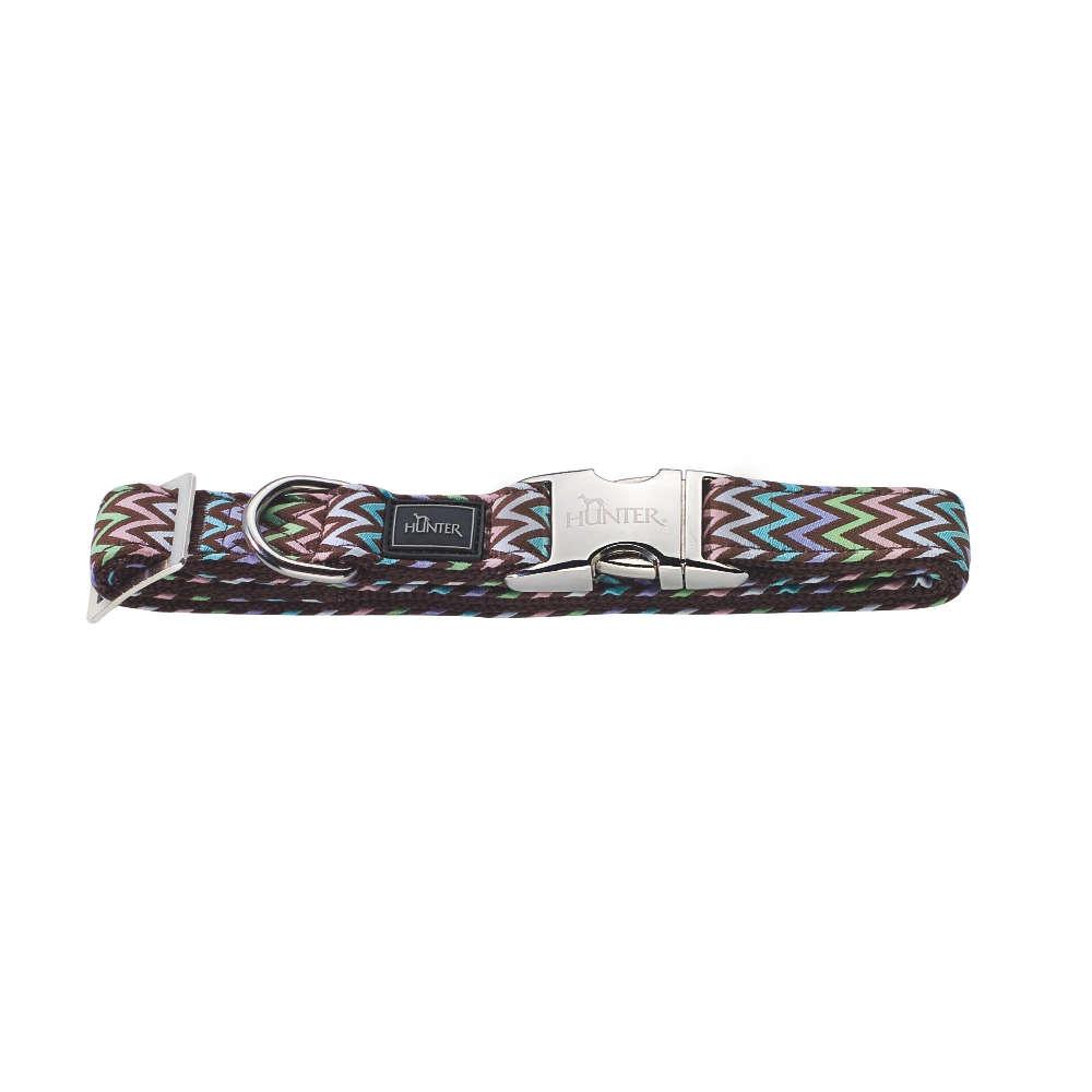 HUNTER Halsung Krazy Zigzag ALU-Strong - Hundehalsband