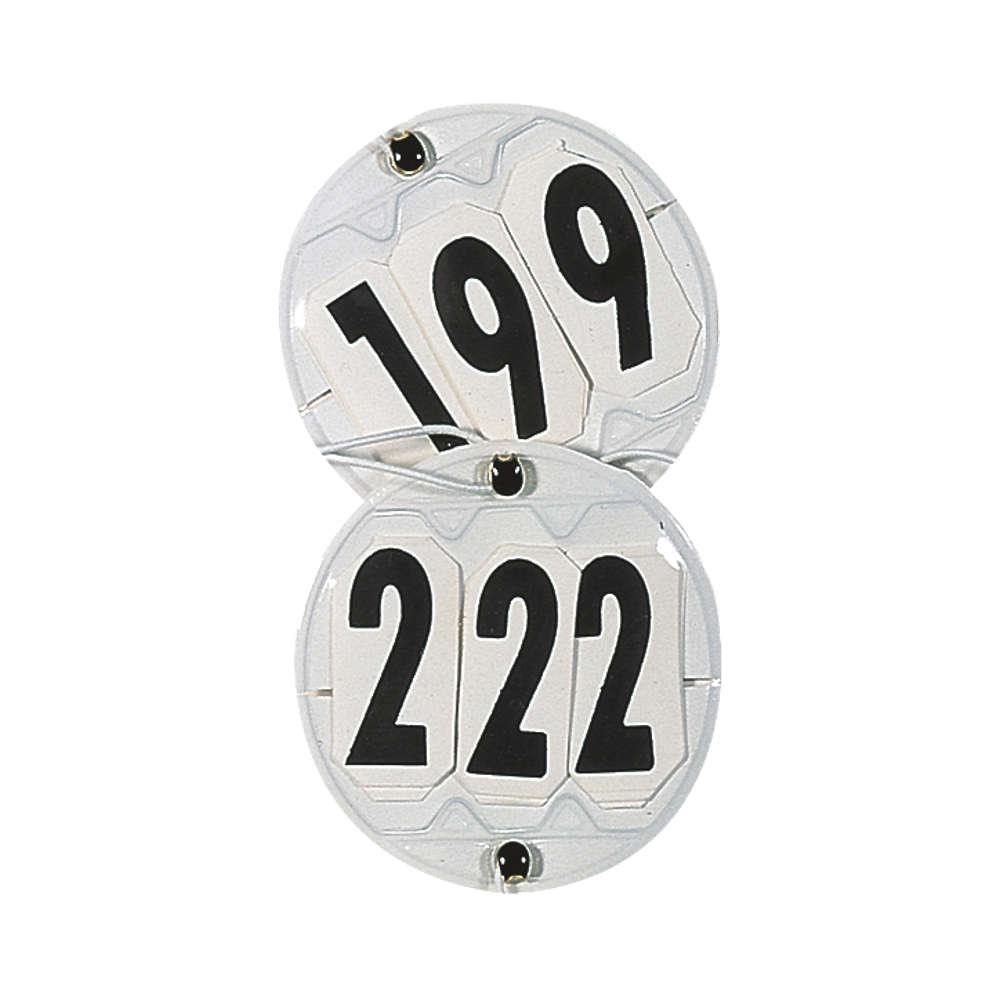 KANTRIE Classic Kopfnummern rund - Kopfnummer Pferd