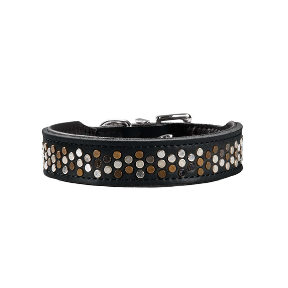 HUNTER Halsband Basic Rivellino Gr. 37 - Hundehalsband