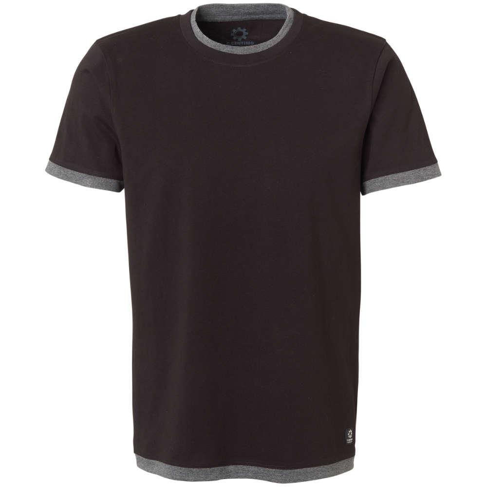 C.Centimo Classic T-shirt uni anthr./schwarz