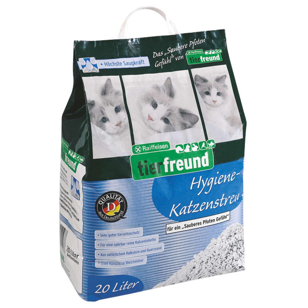 Raiffeisen tierfreund Hygiene-Katzenstreu - Katzenstreu