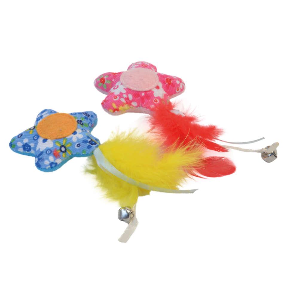 Petlando Katzenspielzeug Blumenstern