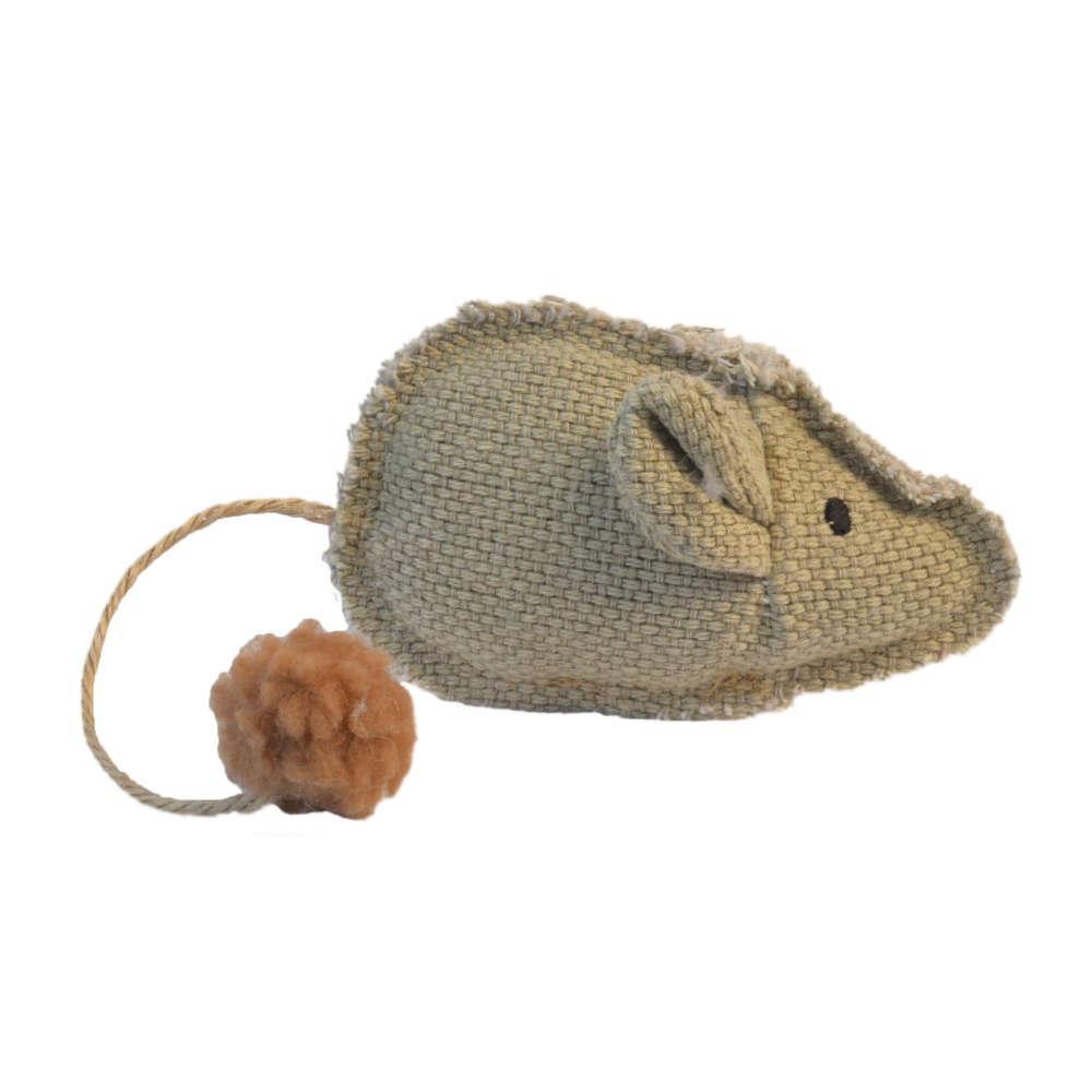 Petlando Katzenspielzeug Maus mit Ball