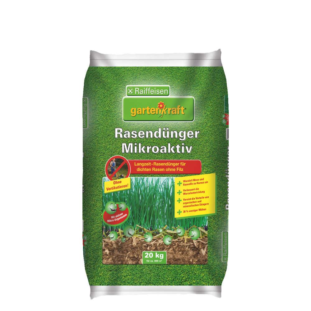 Raiffeisen gartenkraft Rasenduenger Mikro-Aktiv - Rasenduenger