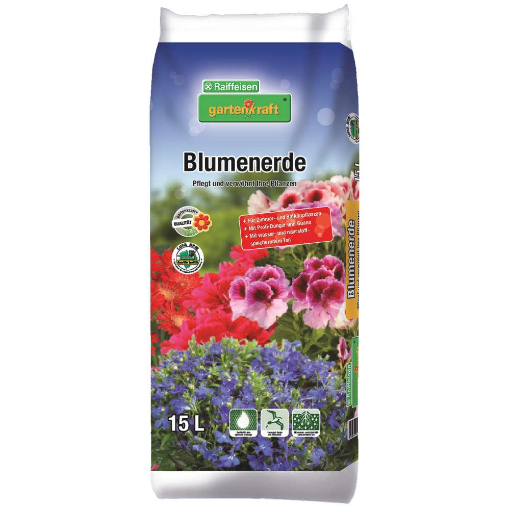 Grafik für Raiffeisen gartenkraft Blumenerde in raiffeisenmarkt.de
