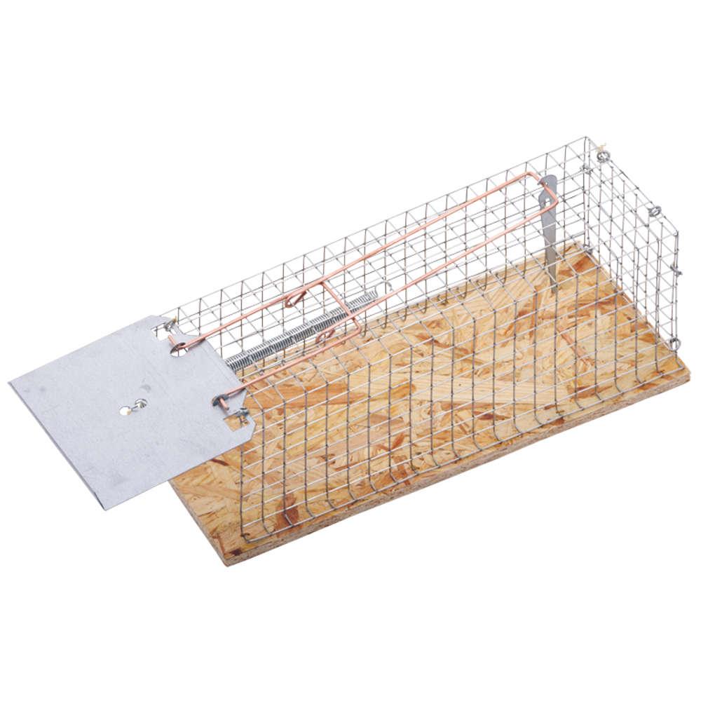 gartenkraft Lebend-Ratten-Drahtkastenfalle - Schadnager