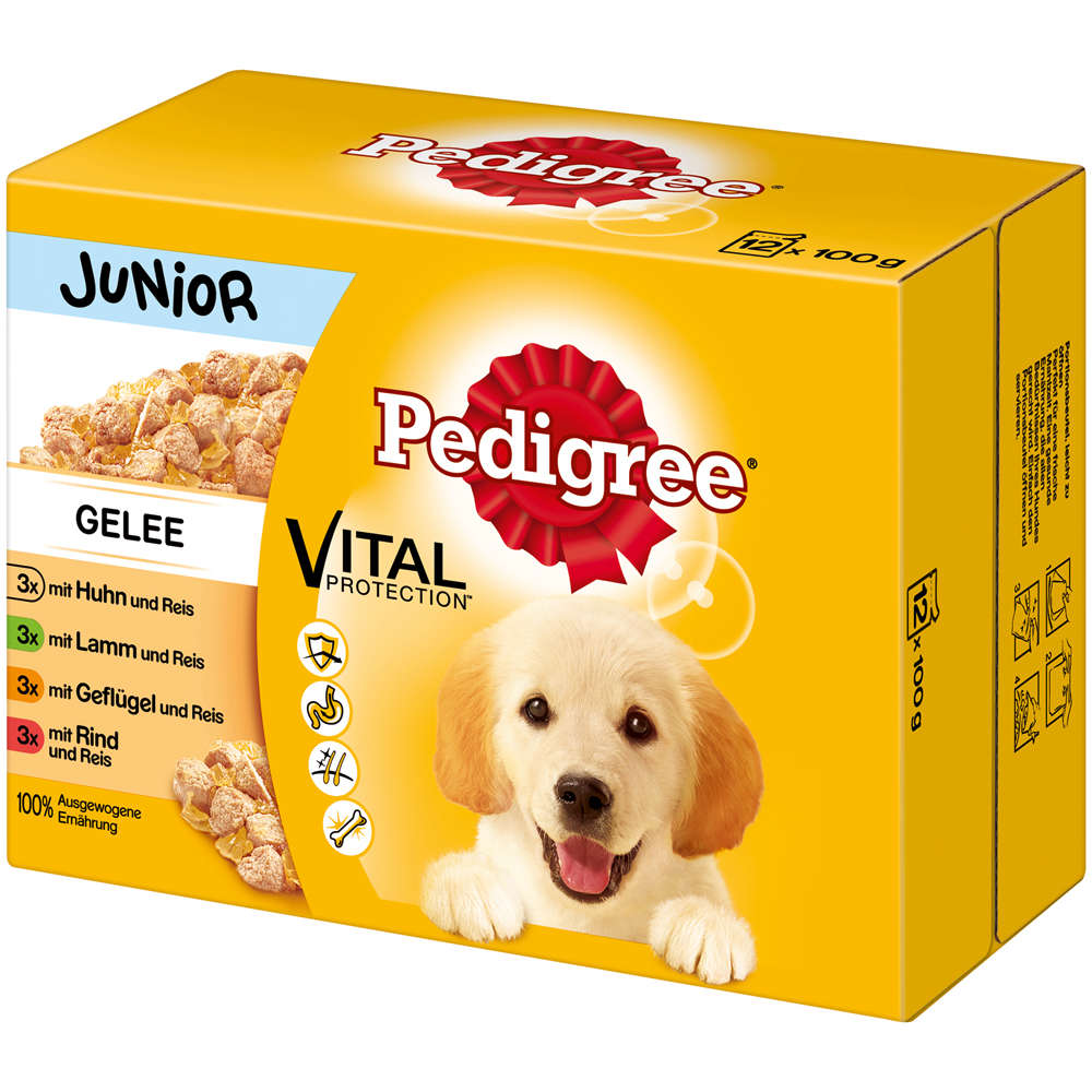 Grafik für PEDIGREE Portionsbeutel Multipack Junior in Gelee  12X100g in raiffeisenmarkt.de