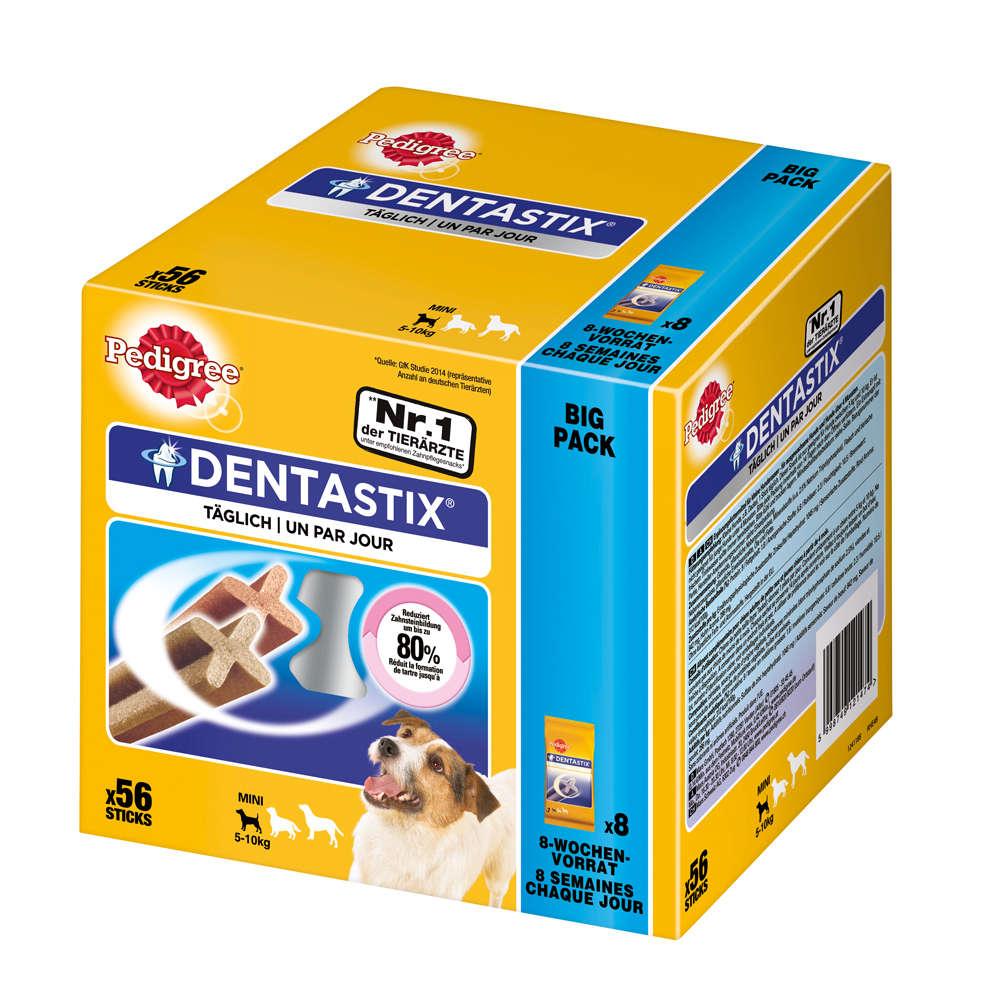 Grafik für PEDIGREE Dentastix Big Pack für kleine Hunde in raiffeisenmarkt.de