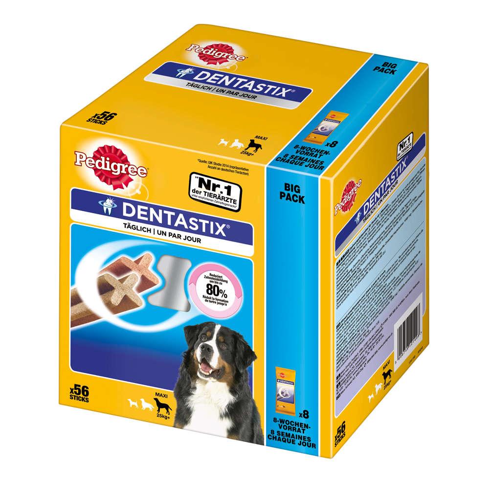 Grafik für PEDIGREE Dentastix für große Hunde in raiffeisenmarkt.de