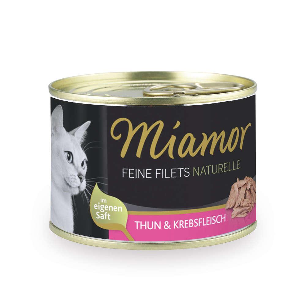 Miamor Feine Filets naturelle Thunfisch
