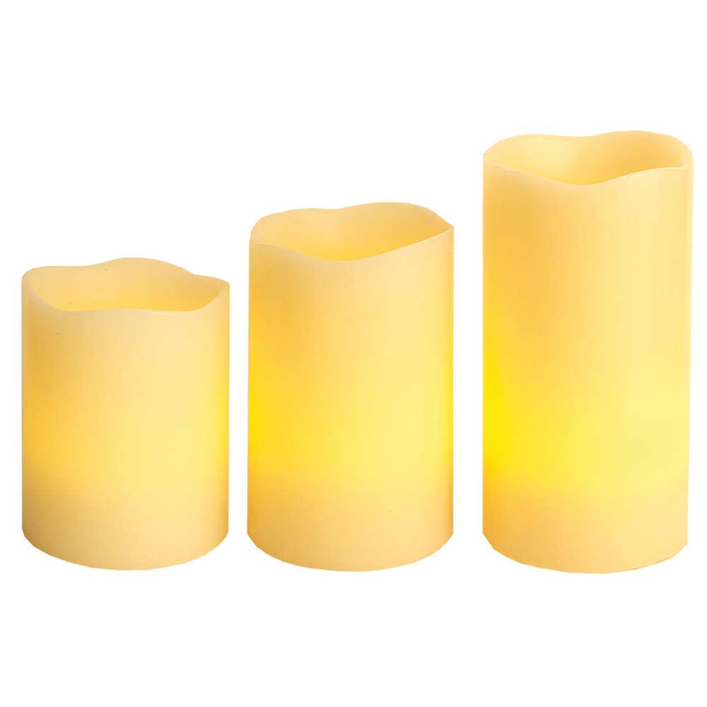 Grafik für Star 3er Set Kerzen mit Fernbedienung in raiffeisenmarkt.de