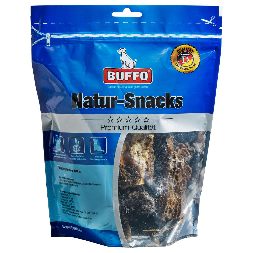 BUFFO Natur-Snacks Pansen 300g