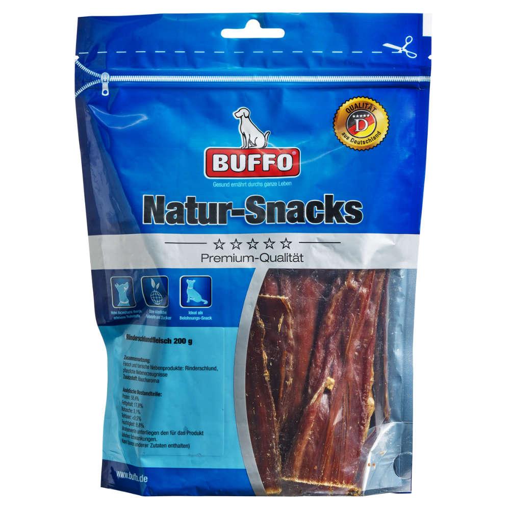 BUFFO Natur-Snacks Rinderschlundfleisch - Kauartikel