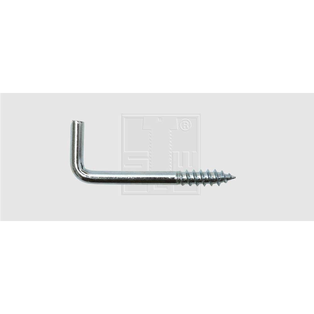 Schraubhaken Gerade 2,5 x 20 mm Stahl verzinkt