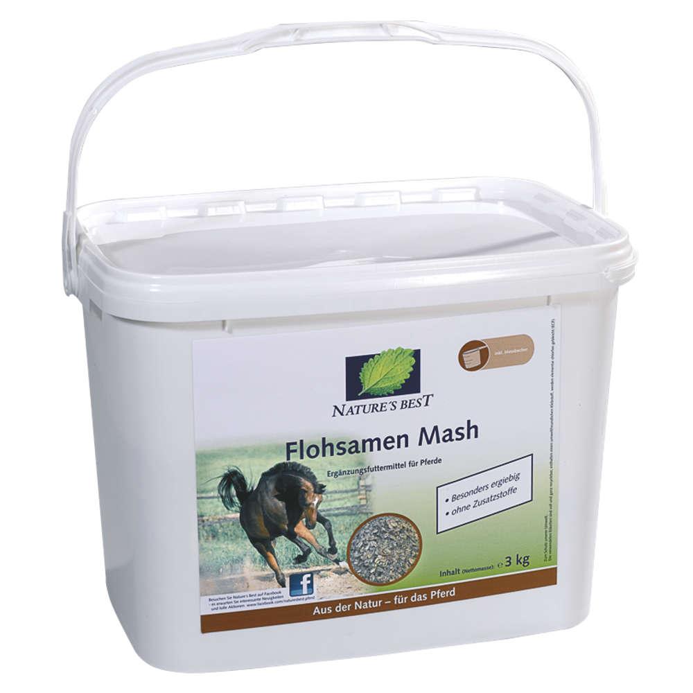 NATURES BEST Flohsamen Mash - Ergaenzugsfuttermittel