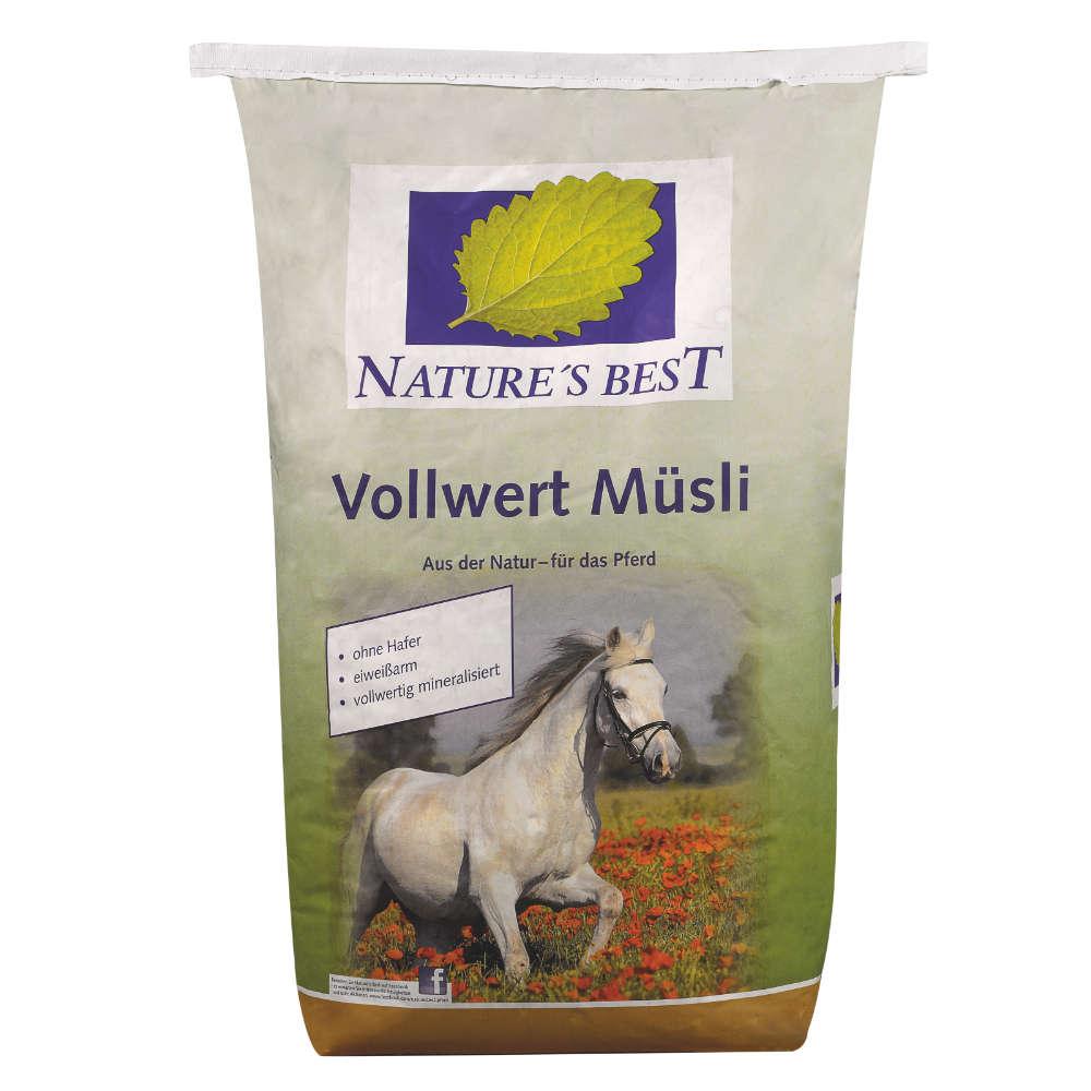 NATURES BEST Vollwert Muesli - Kraftfutter Pferd