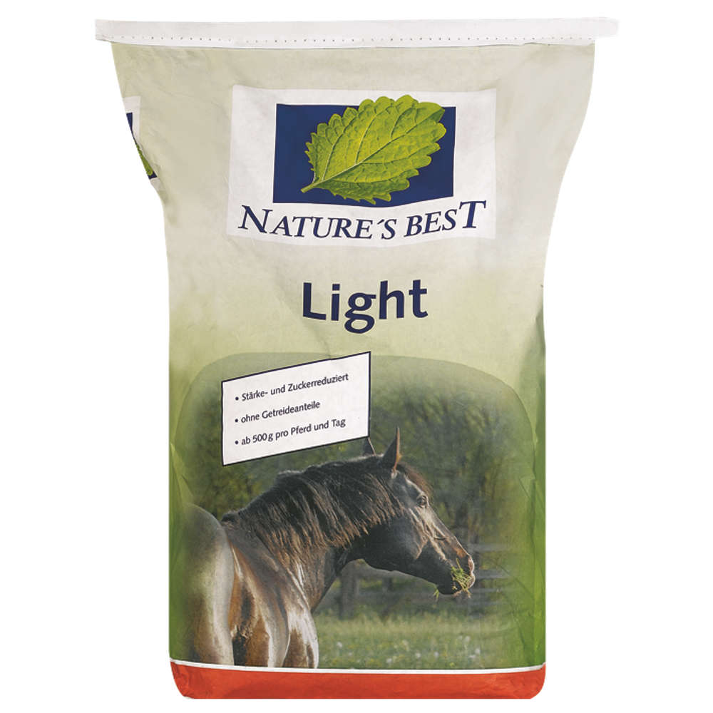 NATURES BEST Light - Kraftfutter Pferd