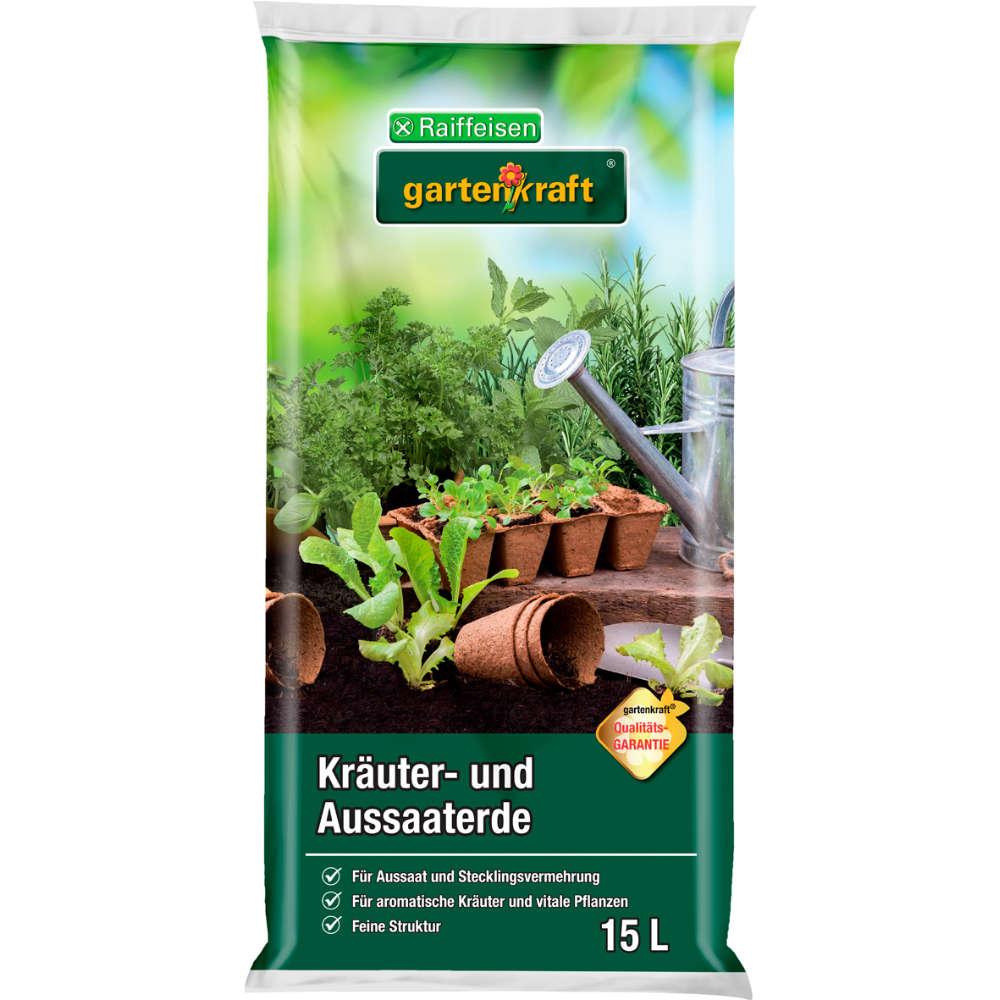 Grafik für Raiffeisen gartenkraft Kräuter- und Aussaaterde in raiffeisenmarkt.de