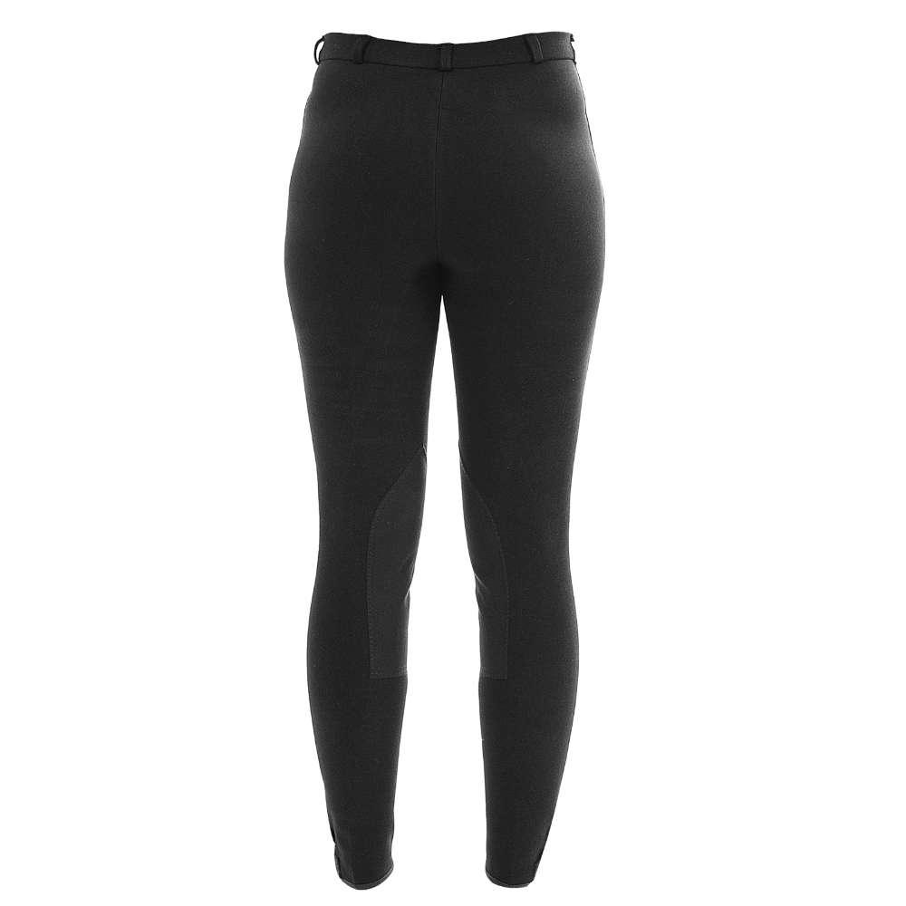 KANTRIE Classic Reithose mit Kniebesatz, schwarz - Reitbekleidung