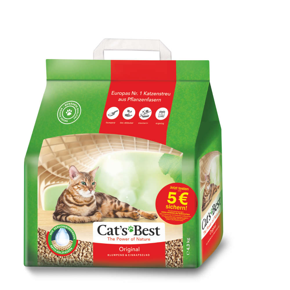 CATS BEST Cat`s Best Original - Katzenstreu