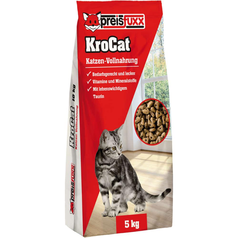 preisfuxxKroCat - Katzen-Trockenfutter