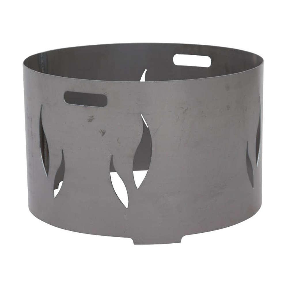 SIENA GARDEN Feuerschalenaufsatz, Stahl silber/anthrazit, passend zu der Feuerschale XXL Ø75cm,
