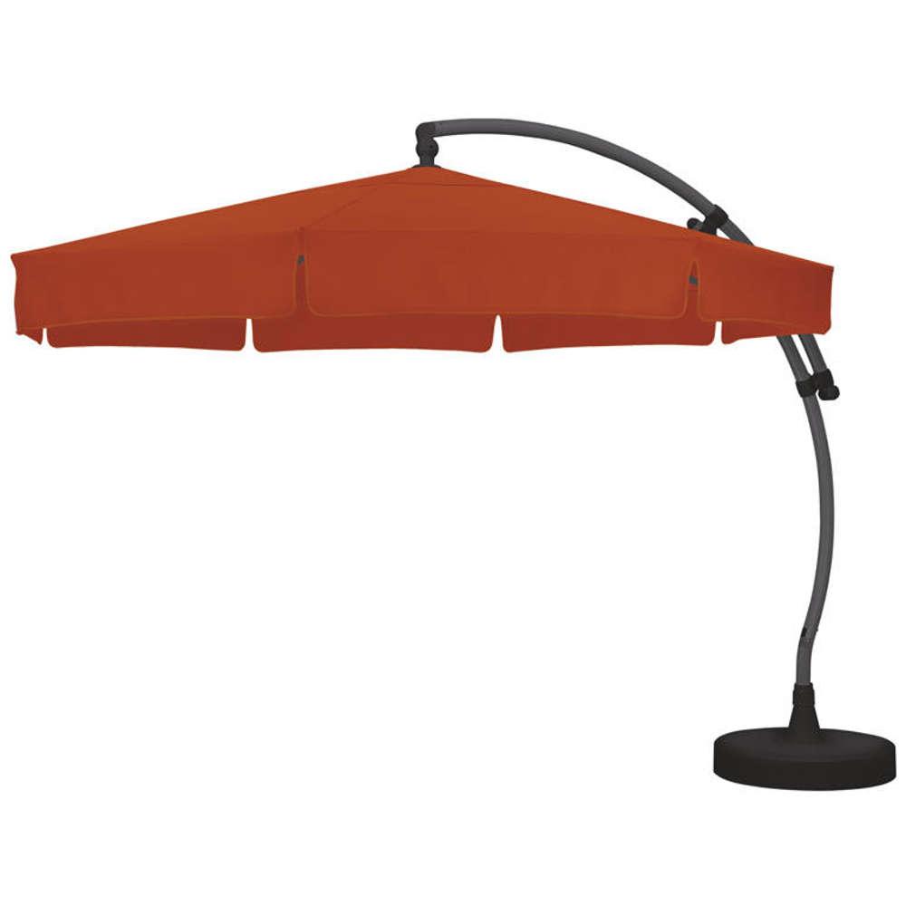 sun garden ampelschirm easy sun 350 cm anthrazit. Black Bedroom Furniture Sets. Home Design Ideas