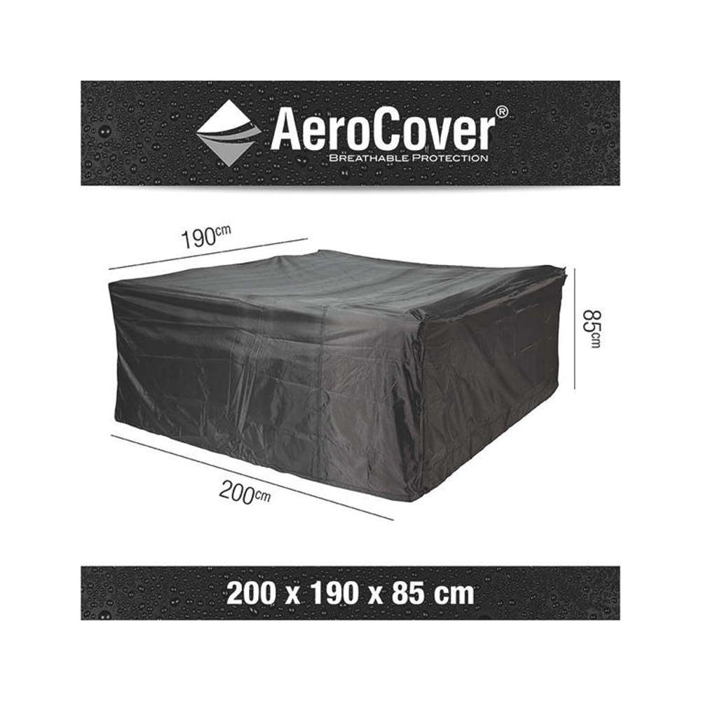 AEROCOVER Atmungsaktive Schutzhülle für Sitzgruppen 200x190x85 cm