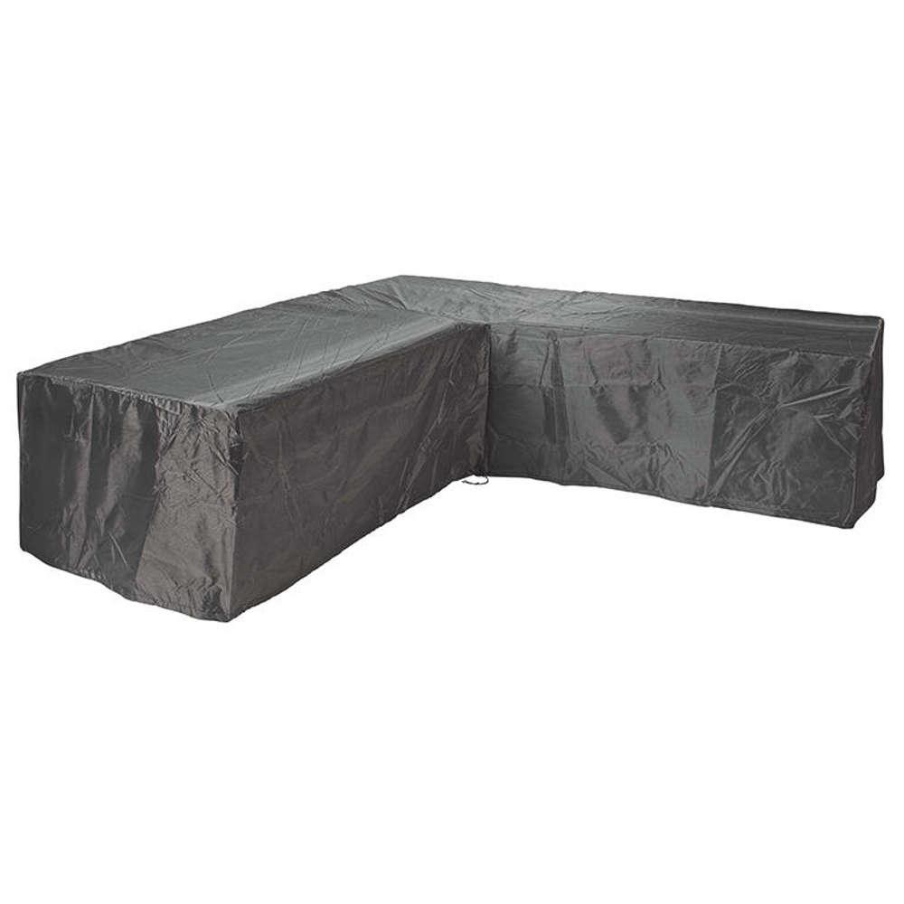 AEROCOVER Atmungsaktive Schutzhülle für Lounge-Sets 255x255x100xH70 cm L-Form