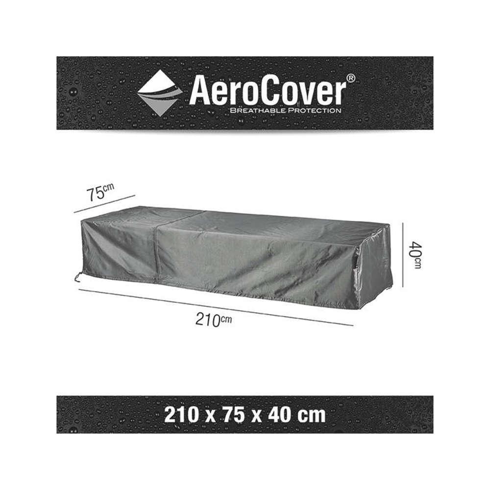 AEROCOVER Atmungsaktive Schutzhülle für Liegen  210x75x40 cm