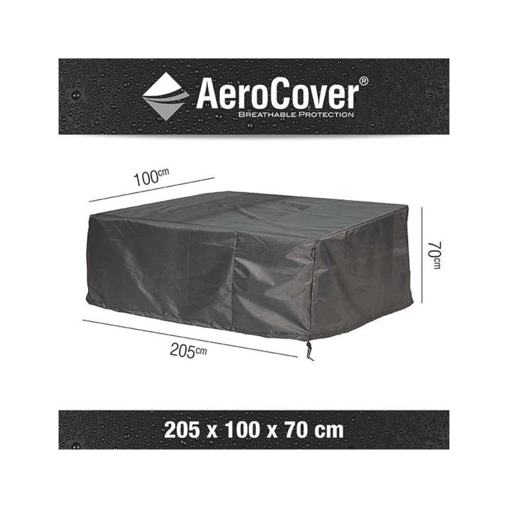 AEROCOVER Atmungsaktive Schutzhülle für Loungebänke 205x100xH70 cm